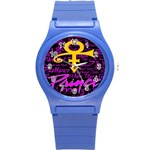 Prince Poster Round Plastic Sport Watch (S)