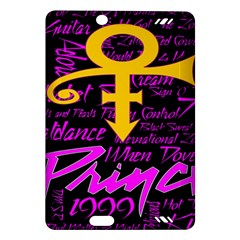 Prince Poster Amazon Kindle Fire Hd (2013) Hardshell Case by Onesevenart