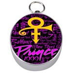 Prince Poster Silver Compasses