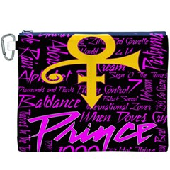 Prince Poster Canvas Cosmetic Bag (xxxl) by Onesevenart