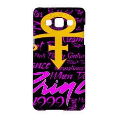 Prince Poster Samsung Galaxy A5 Hardshell Case  by Onesevenart