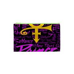Prince Poster Cosmetic Bag (xs) by Onesevenart