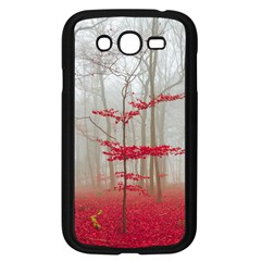 Magic Forest In Red And White Samsung Galaxy Grand Duos I9082 Case (black) by wsfcow
