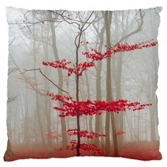 Magic Forest In Red And White Standard Flano Cushion Case (one Side) by wsfcow
