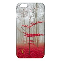 Magic Forest In Red And White Iphone 6 Plus/6s Plus Tpu Case by wsfcow