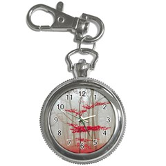 Magic Forest In Red And White Key Chain Watches by wsfcow