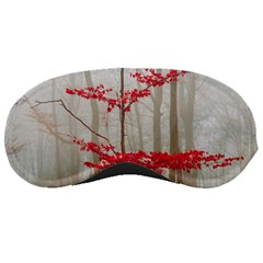 Magic Forest In Red And White Sleeping Masks by wsfcow