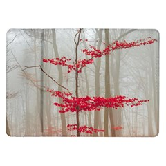 Magic Forest In Red And White Samsung Galaxy Tab 10 1  P7500 Flip Case by wsfcow