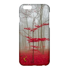 Magic Forest In Red And White Apple Iphone 6 Plus/6s Plus Hardshell Case by wsfcow