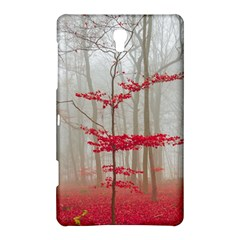 Magic Forest In Red And White Samsung Galaxy Tab S (8 4 ) Hardshell Case  by wsfcow