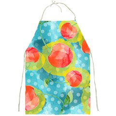 Red Cherries Full Print Aprons by DanaeStudio