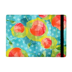 Red Cherries Apple Ipad Mini Flip Case by DanaeStudio