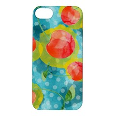 Red Cherries Apple Iphone 5s/ Se Hardshell Case by DanaeStudio