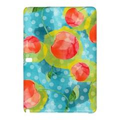 Red Cherries Samsung Galaxy Tab Pro 12 2 Hardshell Case by DanaeStudio