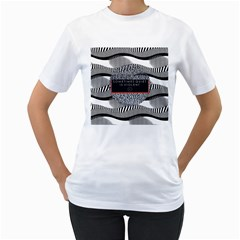 Sometimes Quiet Is Violent Twenty One Pilots The Meaning Of Blurryface Album Women s T Shirt (white) (two Sided) by Onesevenart