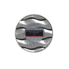 Sometimes Quiet Is Violent Twenty One Pilots The Meaning Of Blurryface Album Hat Clip Ball Marker (10 Pack) by Onesevenart
