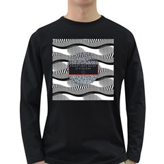 Sometimes Quiet Is Violent Twenty One Pilots The Meaning Of Blurryface Album Long Sleeve Dark T Shirts by Onesevenart