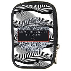 Sometimes Quiet Is Violent Twenty One Pilots The Meaning Of Blurryface Album Compact Camera Cases by Onesevenart