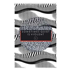 Sometimes Quiet Is Violent Twenty One Pilots The Meaning Of Blurryface Album Shower Curtain 48  X 72  (small)  by Onesevenart