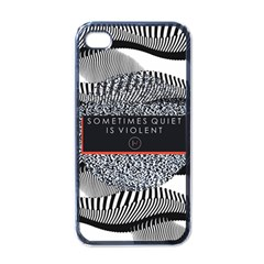 Sometimes Quiet Is Violent Twenty One Pilots The Meaning Of Blurryface Album Apple Iphone 4 Case (black) by Onesevenart