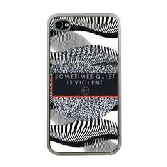 Sometimes Quiet Is Violent Twenty One Pilots The Meaning Of Blurryface Album Apple Iphone 4 Case (clear) by Onesevenart