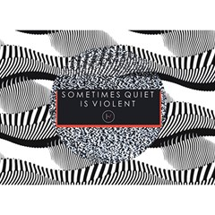 Sometimes Quiet Is Violent Twenty One Pilots The Meaning Of Blurryface Album Birthday Cake 3d Greeting Card (7x5) by Onesevenart