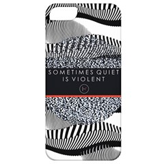 Sometimes Quiet Is Violent Twenty One Pilots The Meaning Of Blurryface Album Apple Iphone 5 Classic Hardshell Case by Onesevenart