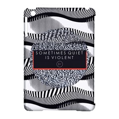 Sometimes Quiet Is Violent Twenty One Pilots The Meaning Of Blurryface Album Apple Ipad Mini Hardshell Case (compatible With Smart Cover) by Onesevenart