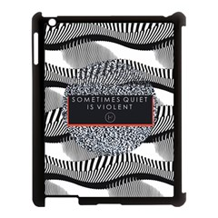Sometimes Quiet Is Violent Twenty One Pilots The Meaning Of Blurryface Album Apple Ipad 3/4 Case (black) by Onesevenart