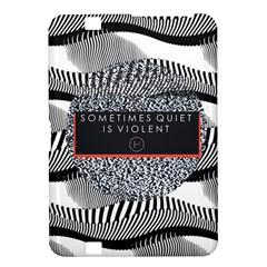 Sometimes Quiet Is Violent Twenty One Pilots The Meaning Of Blurryface Album Kindle Fire Hd 8 9  by Onesevenart