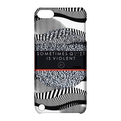 Sometimes Quiet Is Violent Twenty One Pilots The Meaning Of Blurryface Album Apple Ipod Touch 5 Hardshell Case With Stand by Onesevenart