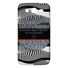Sometimes Quiet Is Violent Twenty One Pilots The Meaning Of Blurryface Album Samsung Galaxy Mega 5 8 I9152 Hardshell Case  by Onesevenart
