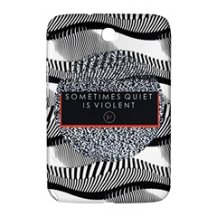 Sometimes Quiet Is Violent Twenty One Pilots The Meaning Of Blurryface Album Samsung Galaxy Note 8 0 N5100 Hardshell Case  by Onesevenart