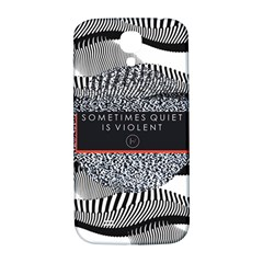 Sometimes Quiet Is Violent Twenty One Pilots The Meaning Of Blurryface Album Samsung Galaxy S4 I9500/i9505  Hardshell Back Case by Onesevenart