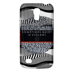 Sometimes Quiet Is Violent Twenty One Pilots The Meaning Of Blurryface Album Galaxy S4 Mini by Onesevenart