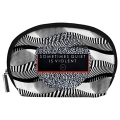 Sometimes Quiet Is Violent Twenty One Pilots The Meaning Of Blurryface Album Accessory Pouches (large)  by Onesevenart