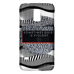 Sometimes Quiet Is Violent Twenty One Pilots The Meaning Of Blurryface Album Galaxy S5 Mini by Onesevenart