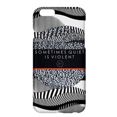Sometimes Quiet Is Violent Twenty One Pilots The Meaning Of Blurryface Album Apple Iphone 6 Plus/6s Plus Hardshell Case by Onesevenart