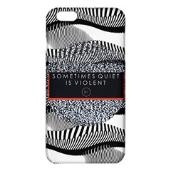 Sometimes Quiet Is Violent Twenty One Pilots The Meaning Of Blurryface Album Iphone 6 Plus/6s Plus Tpu Case by Onesevenart