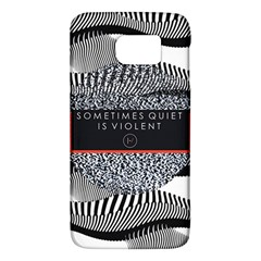 Sometimes Quiet Is Violent Twenty One Pilots The Meaning Of Blurryface Album Galaxy S6 by Onesevenart