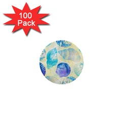 Seashells 1  Mini Buttons (100 Pack)  by DanaeStudio