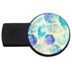 Seashells USB Flash Drive Round (2 GB)