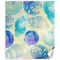 Seashells Canvas 20  X 24   by DanaeStudio