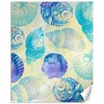 Seashells Canvas 11  x 14