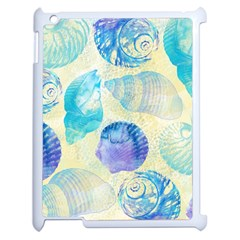 Seashells Apple Ipad 2 Case (white) by DanaeStudio