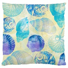Seashells Large Cushion Case (two Sides) by DanaeStudio