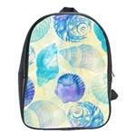 Seashells School Bags (XL)