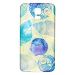 Seashells Samsung Galaxy S5 Back Case (White)