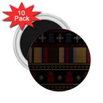 Tardis Doctor Who Ugly Holiday 2.25  Magnets (10 pack)