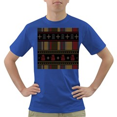 Tardis Doctor Who Ugly Holiday Dark T Shirt by Onesevenart